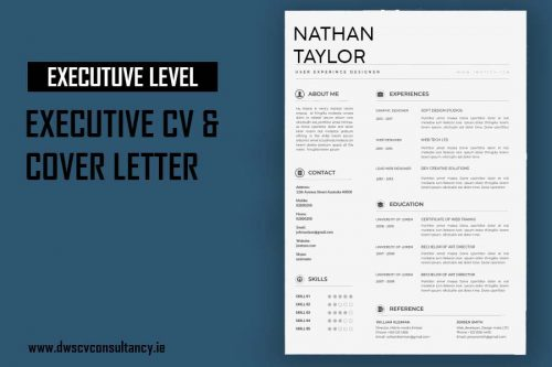 Executive Cv & Cover Letter