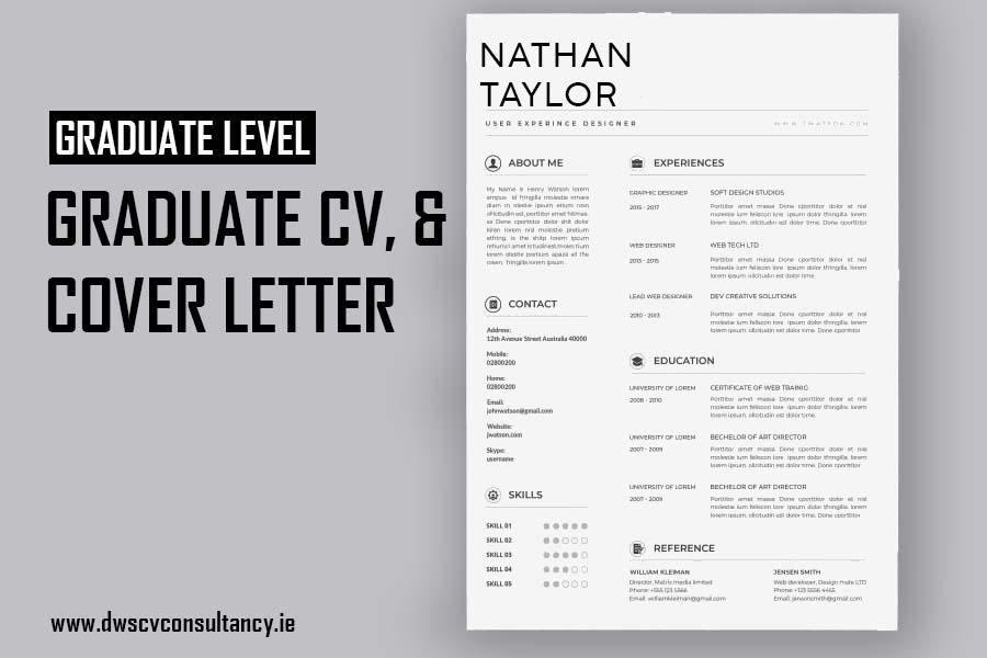 Graduate Cv & Cover Letter