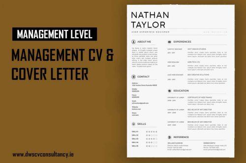 Management Cv & Cover Letter