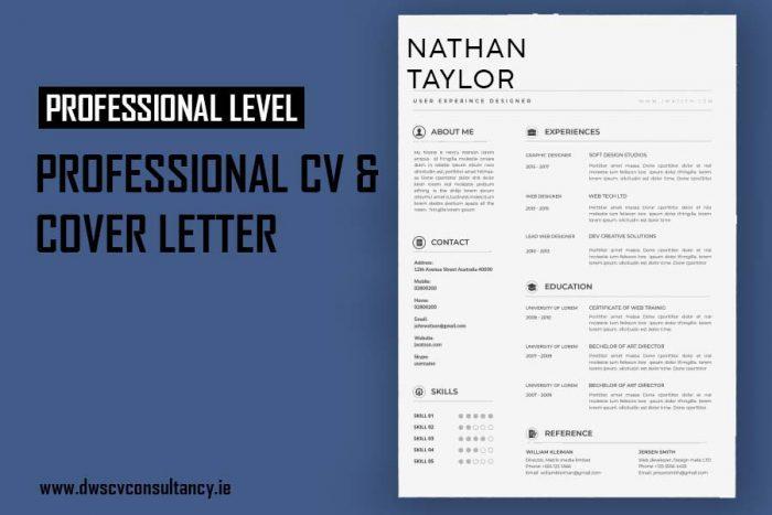 Professional Cv & Cover Letter