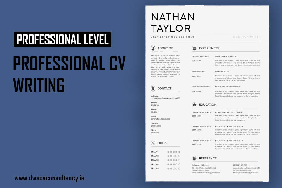 Professional Cv writing